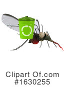 Mosquito Clipart #1630255 by Julos