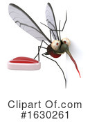 Mosquito Clipart #1630261 by Julos