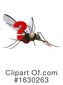 Mosquito Clipart #1630263 by Julos