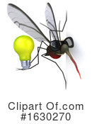 Mosquito Clipart #1630270 by Julos