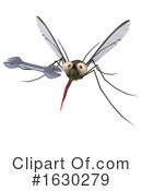 Mosquito Clipart #1630279 by Julos