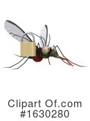 Mosquito Clipart #1630280 by Julos