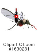 Mosquito Clipart #1630281 by Julos