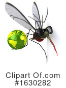 Mosquito Clipart #1630282 by Julos