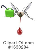 Mosquito Clipart #1630284 by Julos