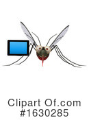 Mosquito Clipart #1630285 by Julos