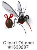 Mosquito Clipart #1630287 by Julos