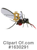 Mosquito Clipart #1630291 by Julos