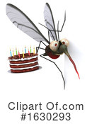 Mosquito Clipart #1630293 by Julos