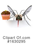 Mosquito Clipart #1630295 by Julos