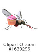 Mosquito Clipart #1630296 by Julos