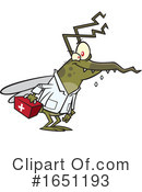 Mosquito Clipart #1651193 by toonaday