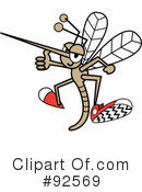 Mosquito Clipart #92569 by Andy Nortnik