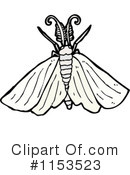 Royalty-Free (RF) Moth Clipart Illustration #1153523