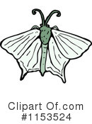 Royalty-Free (RF) Moth Clipart Illustration #1153524