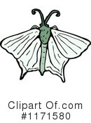 Royalty-Free (RF) Moth Clipart Illustration #1171580