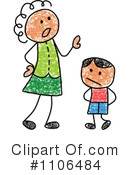 Royalty-Free (RF) Mother Clipart Illustration #1106484