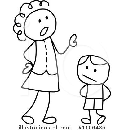 Mother Clipart #1106485 by C Charley-Franzwa