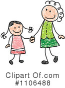 Royalty-Free (RF) Mother Clipart Illustration #1106488