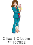 Mother Clipart #1107952 by Lal Perera