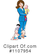 Mother Clipart #1107954 by Lal Perera