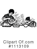 Royalty-Free (RF) Mother Clipart Illustration #1113109
