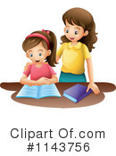 Royalty-Free (RF) Mother Clipart Illustration #1143756