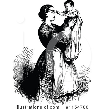 Mother Clipart #1154780 by Prawny Vintage