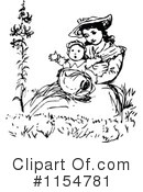 Mother Clipart #1154781 by Prawny Vintage