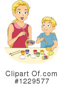 Royalty-Free (RF) Mother Clipart Illustration #1229577
