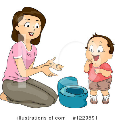 Potty Training Clipart #1229591 by BNP Design Studio