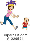 Mother Clipart #1229594 by BNP Design Studio