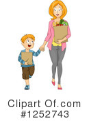 Royalty-Free (RF) Mother Clipart Illustration #1252743