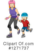 Mother Clipart #1271737 by BNP Design Studio