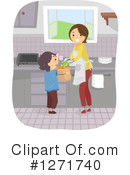 Mother Clipart #1271740 by BNP Design Studio