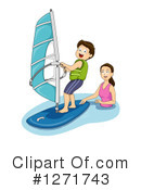 Royalty-Free (RF) Mother Clipart Illustration #1271743