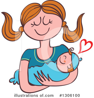 Woman Clipart #1306100 by Zooco