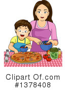 Mother Clipart #1378408 by BNP Design Studio