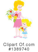 Mother Clipart #1389740 by Alex Bannykh