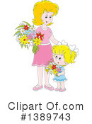 Mother Clipart #1389743 by Alex Bannykh