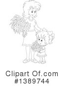 Mother Clipart #1389744 by Alex Bannykh