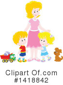 Mother Clipart #1418842 by Alex Bannykh