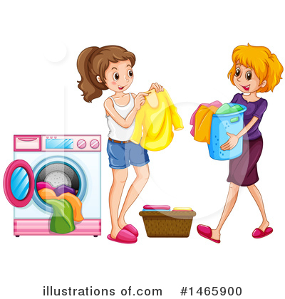 Washing Machine Clipart #1465900 by Graphics RF