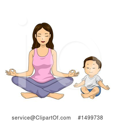 Yoga Clipart #1499738 by BNP Design Studio