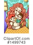 Royalty-Free (RF) Mother Clipart Illustration #1499743