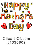 Royalty-Free (RF) Mothers Day Clipart Illustration #1336809