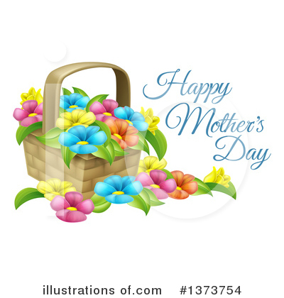 Royalty-Free (RF) Mothers Day Clipart Illustration by AtStockIllustration - Stock Sample #1373754