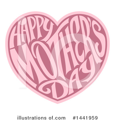 Mothers Day Clipart #1441959 by AtStockIllustration