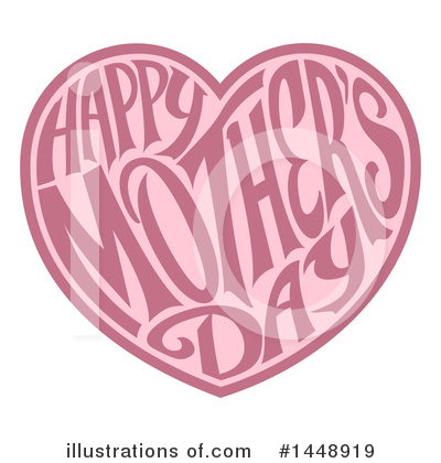 Mothers Day Clipart #1448919 by AtStockIllustration