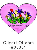 Mothers Day Clipart #96301 by Pams Clipart